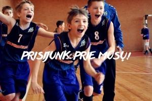 """Krepšinio mokykla """"Perkūnas"""" kviečia visus norinčius sportuoti!"""