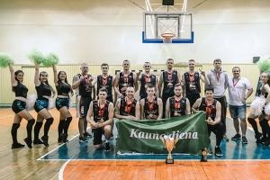 """Varžovus neutralizavusi """"Sporto manija"""" tapo """"Kauno dienos"""" taurės turnyro čempione"""