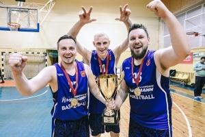 """Naujieji C lygos čempionai – """"Hegelmann Litauen"""" krepšininkai!"""