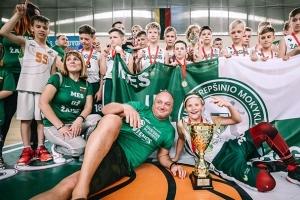 """Įspūdingame 2008 m. grupės finale – krepšinio mokyklos """"Žalgiris"""" triumfas"""