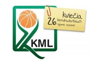 KKML ieško norinčių bendradarbiauti naujame – jau 26-ajame lygos sezone!
