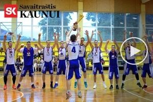 """""""Savaitraščio Kaunui"""" Didžiosios taurės finale – galinga """"Sporto manijos"""" pergalė"""